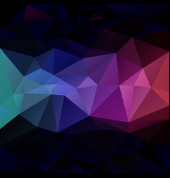 abstract irregular polygon background vector image