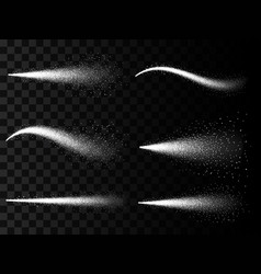 creative of water spray mist vector image