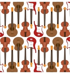 Guitars instrument isolated icon vector