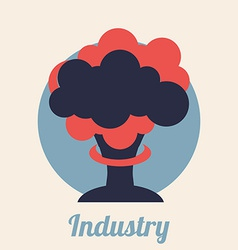 industry signal design vector image