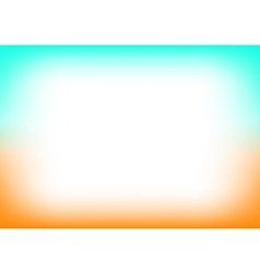 Orange Blue Copyspace Background vector image