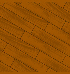 Orange wooden laminate vector