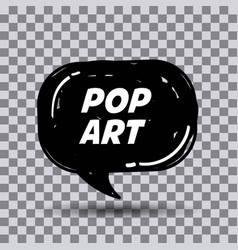 Pop art comics vector