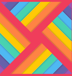 template tilted abstract colorful background vector image