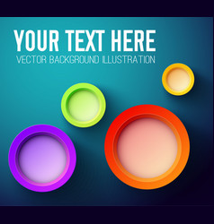 your text here abstract background vector image