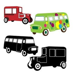 Retro transport vector image