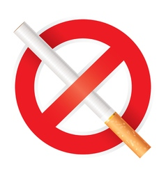 No smoking isolated on white background vector