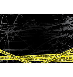 police investigation vector image vector image