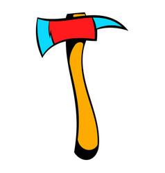 axe for a firefighter icon icon cartoon vector image vector image