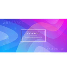 abstract dynamic trendy gradient background vector image