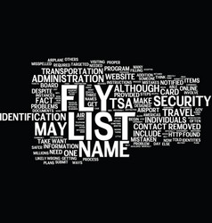 are you on the no fly list what you can do text vector image