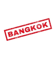 Bangkok Rubber Stamp vector