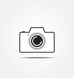 camera icon2 vector image