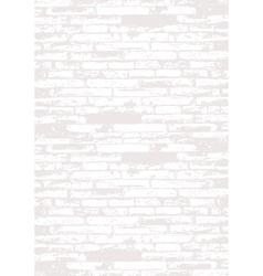 Grey brick wall vector