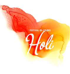 Holi festival background vector