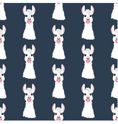 Llama with nipple seamless pattern vector