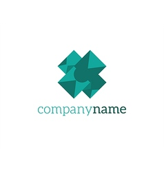 logo abstraction vector image
