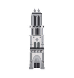 church building icon image vector image vector image