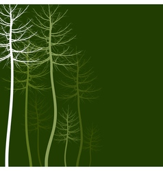 Abstract tree5 vector image vector image