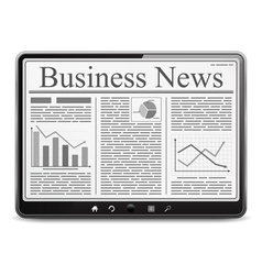 Business News vector image