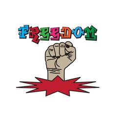 fist hand icon vector image