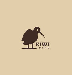 Kiwi bird logo vector