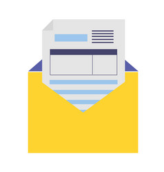 Mail document tax vector