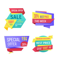 Special offer sale this week vector