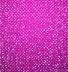 Triangles magenta technology pattern vector