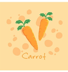 Vegetable Carrot vector