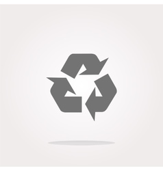 Icon Series - Recycle Sign vector image vector image