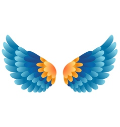Wing vector image vector image