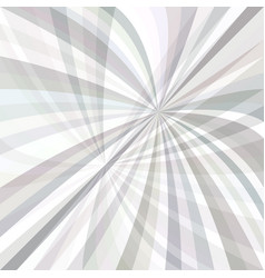 Curved ray burst background - graphic from curves vector