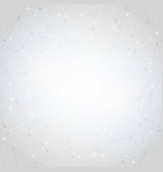 white abstract polygonal space low poly vector image