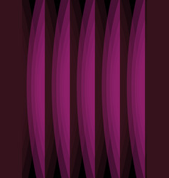 black background with purple arc abstract shapes vector image