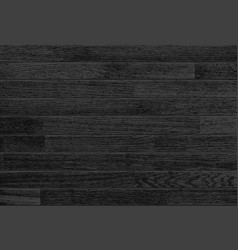 Black wooden background vector