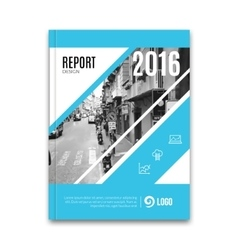 Business flyer brochure template design layout vector
