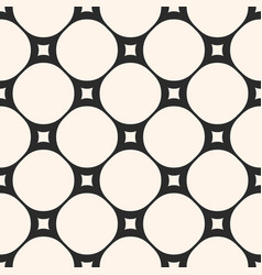 Circular mesh texture seamless pattern vector