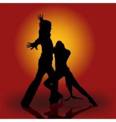 flamenco dance vector image vector image