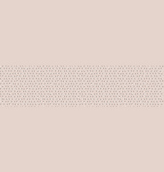 Hand drawn whimsical spotty dots seamless border vector