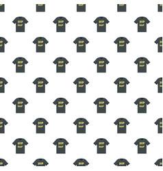Hip hop tshirt pattern seamless vector