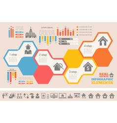 Real Estate Infographics vector