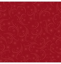 Romantic christmas seamless background vector