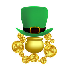 saint patricks day concept vector image
