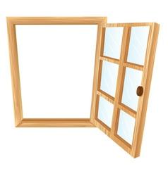 Single window frame vector image vector image