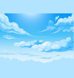 Sky cloud daily vector