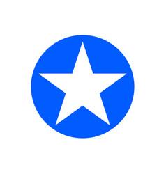 star glyph icon vector image