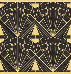 Template abstract art deco cc vector