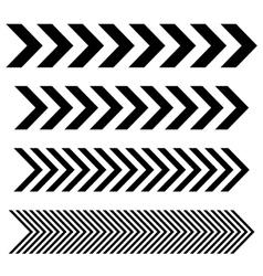 Arrow Linear signs vector image
