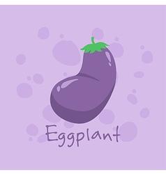 Eggplant Vegetable vector image vector image
